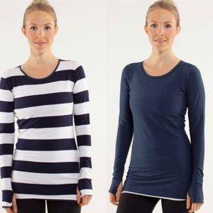 Lululemon reversible long sleeve shirt